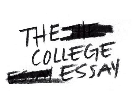 College application essay organization
